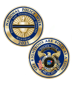 2021 National Police Week Coin